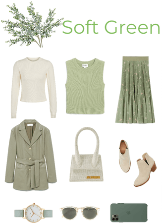 Soft Green 🌿