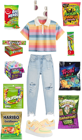 sour candy fit