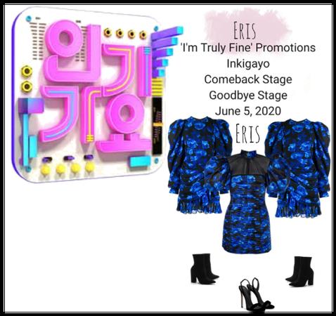 -Eris- 'I'm Tuly Fine' Promotions Inkigayo