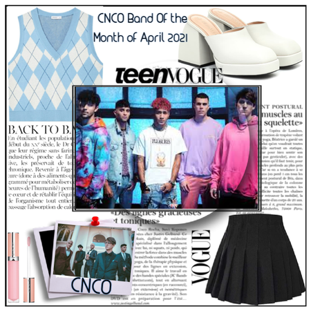 Vogue Challenge FT CNCO **BAND OF THE MONTH!!**
