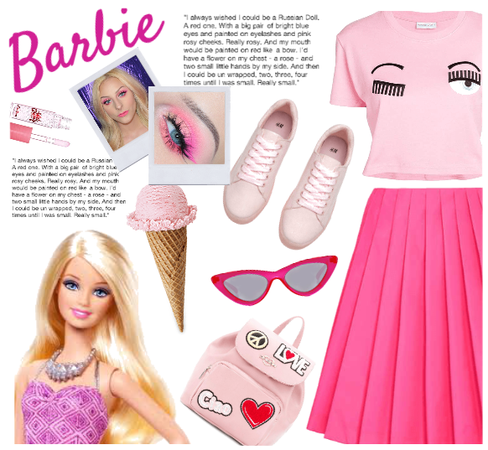 Barbie: all pink all day