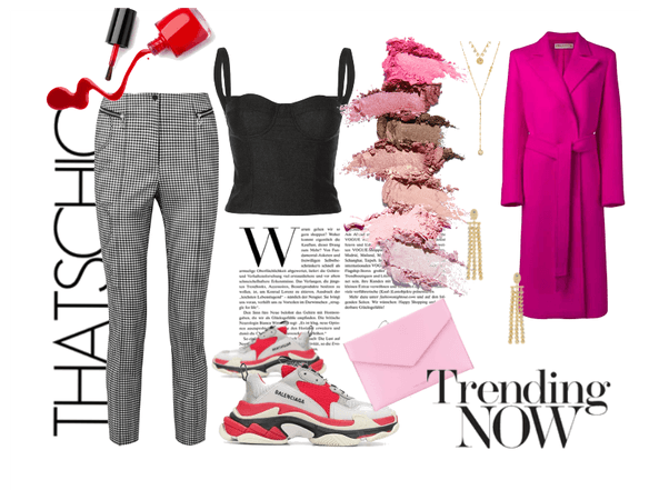 Fall with a Pop of Pink