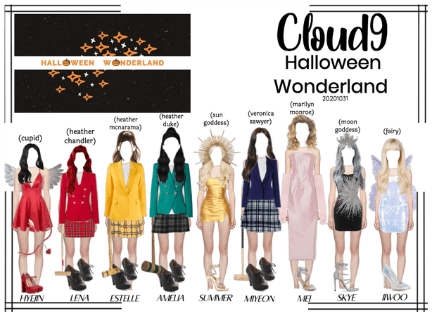 Cloud9 (구름아홉) | Halloween Wonderland Party |103120