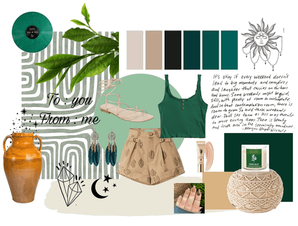 Green / Boho