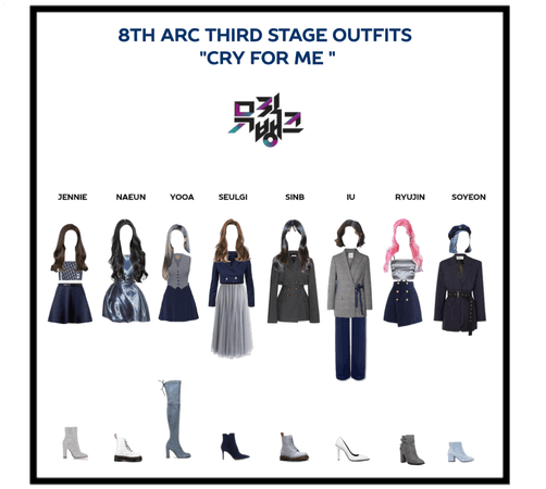 "8th Arc 3rd stage Outfits ""cry for me """