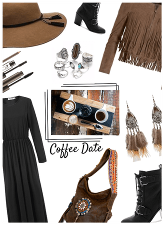 Cappaccino Day Contest: Coffee Date Boho Style