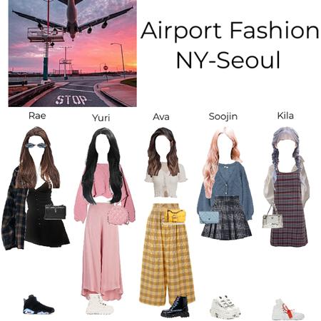 XOC airport Fashion NY- Seoul