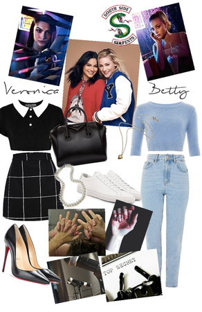 Veronica Lodge x Betty Cooper