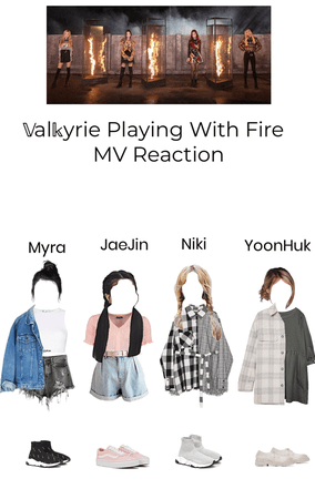 ~𝕍al𝕜yrie~ Playing With Fire MV Reaction