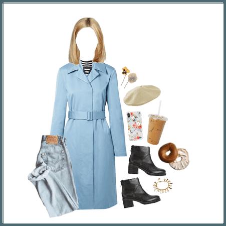 Baby Blue Coat in New York