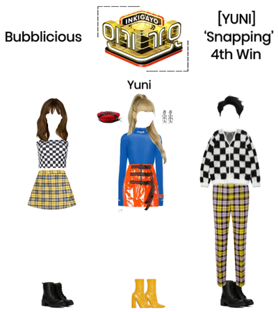 Bubblicious (신기한) [YUNI] 'Snapping' 4th Win
