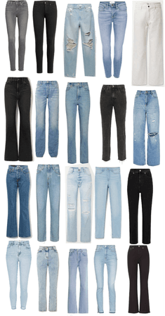 shopping jeans with mom/sis/dawn
