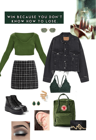 a slytherin's fall
