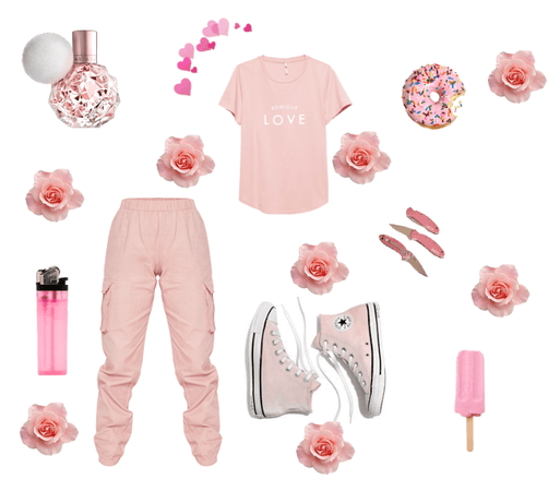 flowers and pink