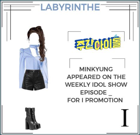 LABYRINTHE minkyung weekly idol
