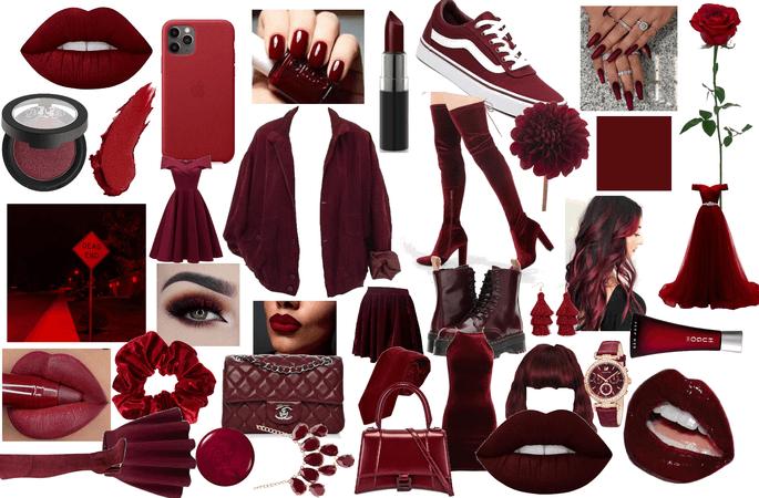 Dark Redy collage ❤️🖤