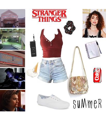 Steve's Crush - Stranger Things OC