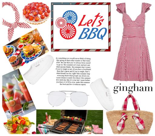 Gingham & Barbeque