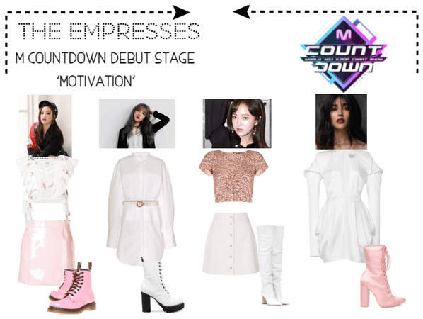[THE EMPRESSES] DEBUT STAGE- M COUNTDOWN