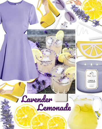 SUMMER 2020: Lavender Lemonade Style