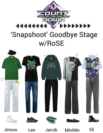 Zus//Snapshoot Mnet Countdown Goodbye Stage