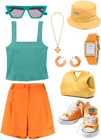 Orange Style by MAHSA