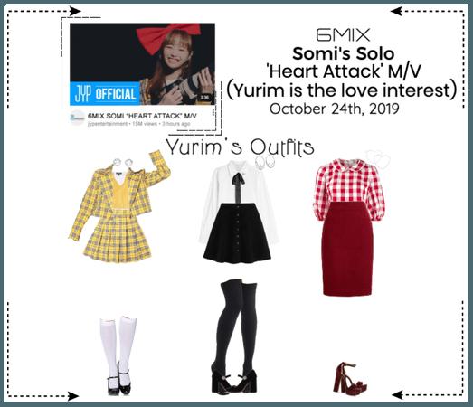 《6mix》'Heart Attack M/V - Somi's Solo