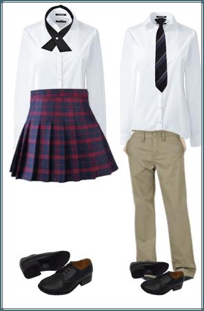 Entertainment High Academy uniform