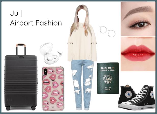 Ju Airport Fashion | Seoul Arrival