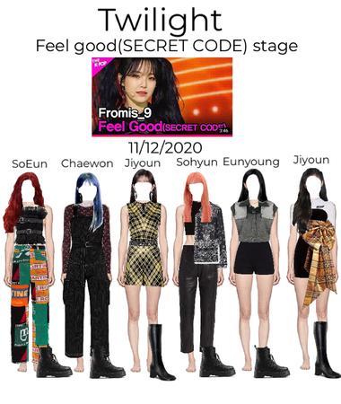 twilight Feel Good (SECRET CODE) stage