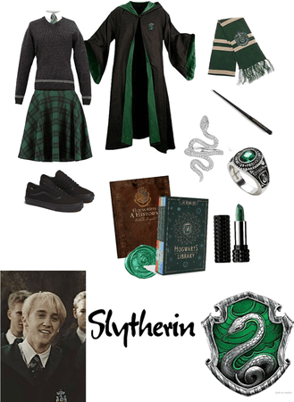 Hogwarts slytherin outfit