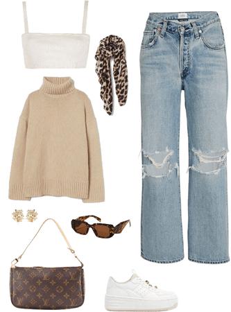 outfit estilo natural