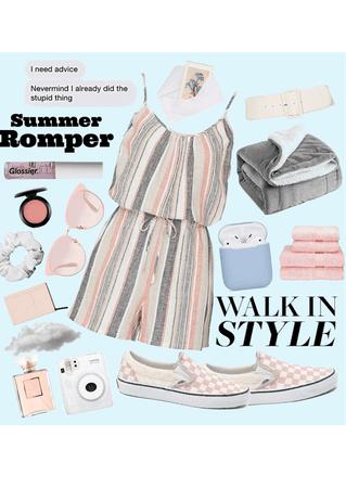 summer romper 🩰