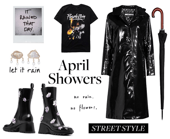 April Showers - Purple Rain