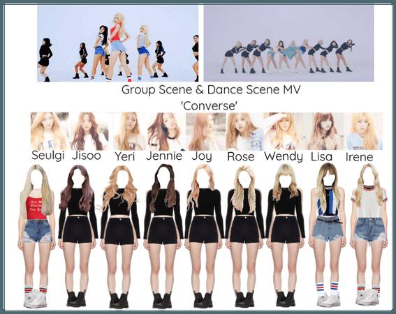 (BlackVelvet) Group & Dance Scene 'Converse'