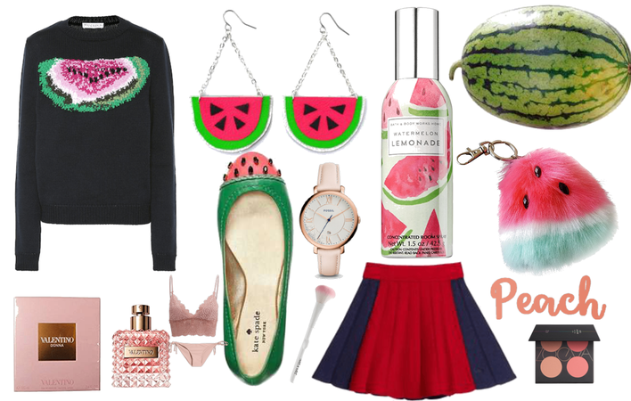 THE  GIRL WHO LOVES WATERMELON
