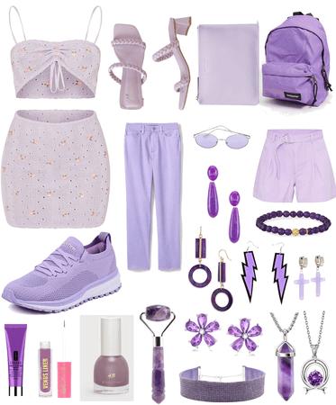 To much purple