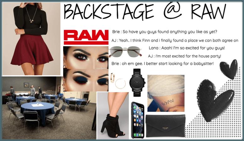 WWE : Backstage