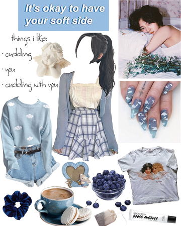 Soft and pretty in blue