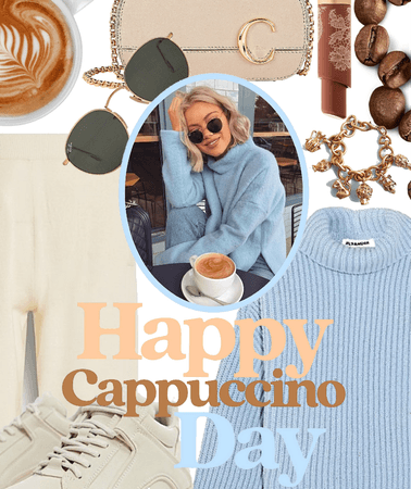 Cappuccino and a sweater