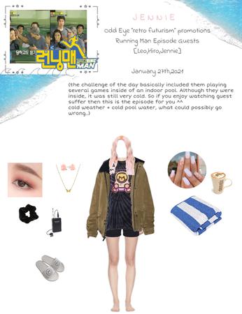 Lee Jennie with Odd Eye: Running Man Episode {01.27.2021}