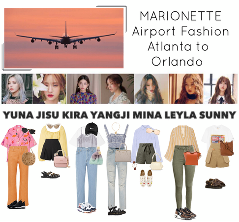{MARIONETTE} Airport Fashion