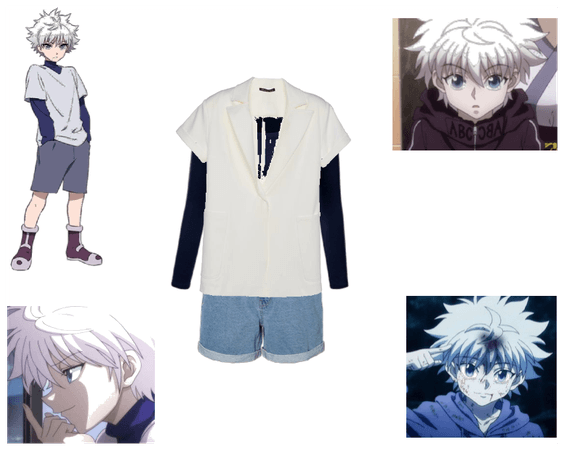 This sucks but, It's a Killua Inspired outfit.