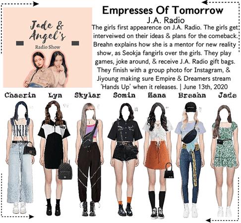 EOT(내일의 황후) | J.A. First Appearance