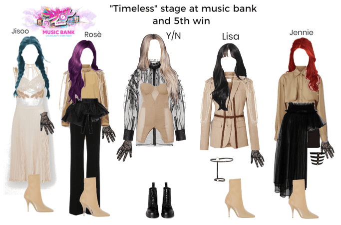 """""""Timeless"""" stage at music bank and 5th win"""