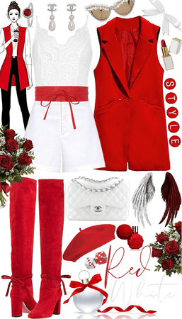 Red Angel White Devil