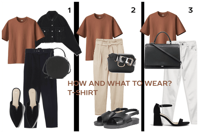 HOW AND WHAT TO WEAR?T-SHIRT