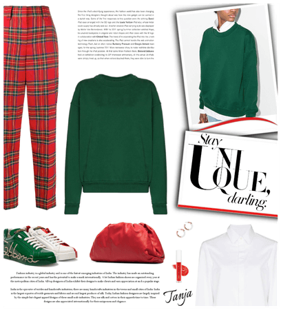 Holyday Trend: Green & Red