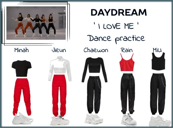 Daydream 'I love me' dance practice