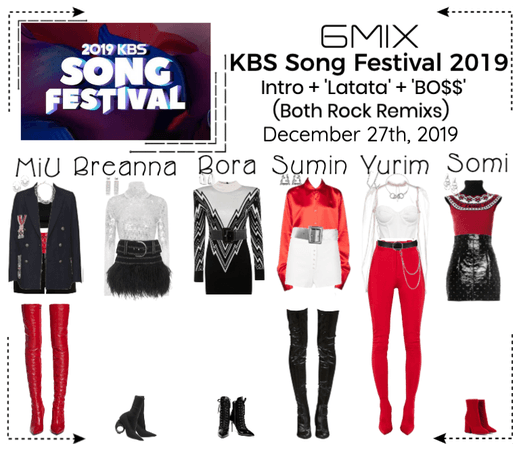 《6mix》KBS Song Festival 2019 Performance